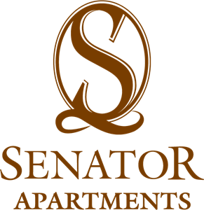 Senator Apartments Logo Vector