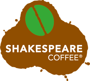 Shakespeare Coffee Logo Vector