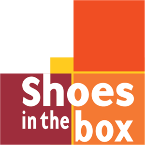 Shoes in the box Logo Vector