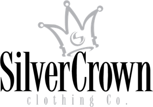 Silver Crown Clothing Logo Vector