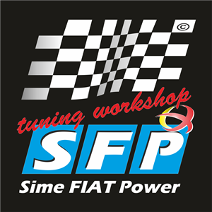 Sime FIAT Power Logo Vector
