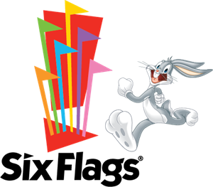 Six Flags Logo Vector