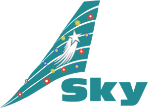 Sky Airlines Logo Vector