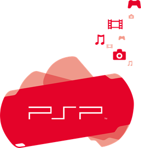 sony psp logo vector cdr free download