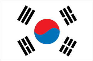 South Korea Logo Vector