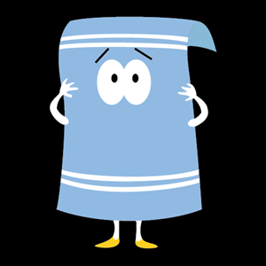 South Park - Towelie Logo Vector
