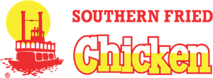 Southern Fried Chicken Logo Vector