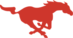 Southern Methodist Mustangs Logo Vector