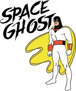 Space Ghost Logo Vector