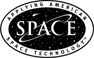 Space Technology Logo Vector