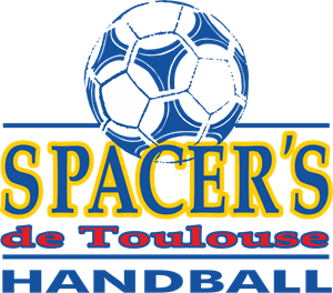 Spacer's de Toulouse Handball Logo Vector