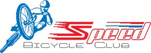 Speed Bicycle Club Logo Vector