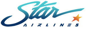 Star Airlines Logo Vector