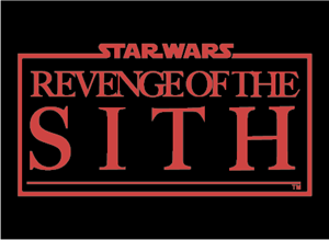 Star Wars Episode III Revenge of the Sith Logo Vector