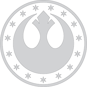 Star Wars New Republic Kalimdor Logo Vector
