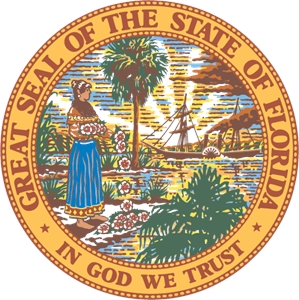State of Florida Seal Logo Vector