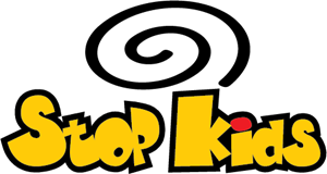 Stop Kids Logo Vector