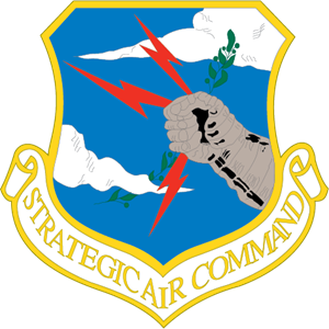 Strategic Air Command Logo Vector