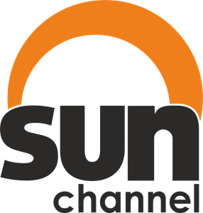 Sun Channel Tourism TV Logo Vector