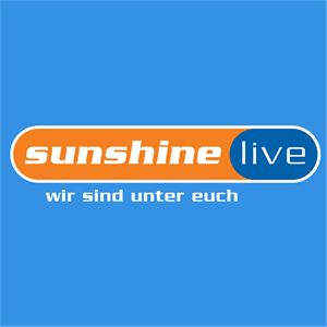 Sunshine live Electronic Music Radio Logo Vector