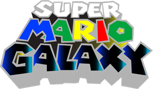 Super Mario Galaxy Logo Vector