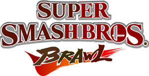 Super Smash Bros. Brawl Logo Vector