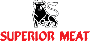 Superior Meat Logo Vector