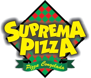Suprema Pizza Logo Vector