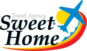 Sweet Home Travel Agency Logo Vector