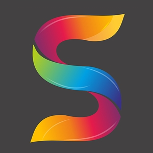 S Alphabet Design Logo Vector