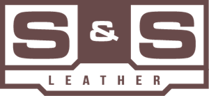 S&S Leather Logo Vector