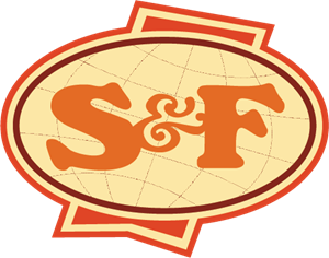s&f food Importers Logo Vector
