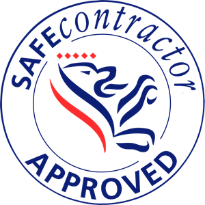 Safe Contractor Approved Logo Vector