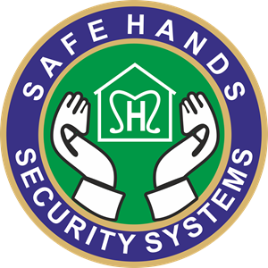 Safe Hands Security Systems Logo Vector