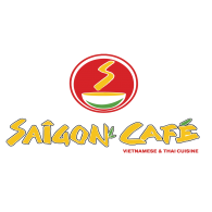 Saigon Cafe Logo Vector
