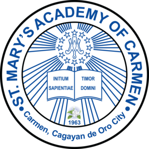 Saint Mary's Academy of Carmen Logo Vector