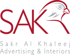 Sakr Al Khaleej Advertising & Interiors Logo Vector