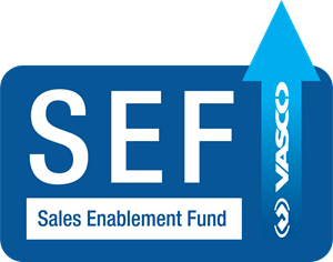 Sales Enablement Fund Program SEF Logo Vector