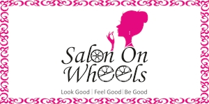 Salon on Wheels Logo Vector