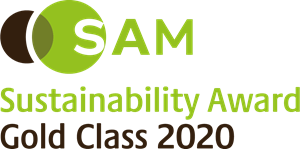 SAM Sustainability Award Gold Class 2020 Logo Vector