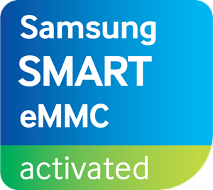 Samsung Smart eMMC Activated Logo Vector