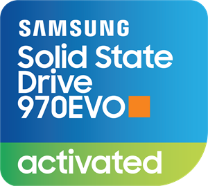 Samsung SSD 970EVO Activated Logo Vector