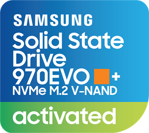 Samsung SSD 970EVO+ NVMe Activated Logo Vector