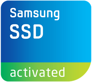 Samsung SSD Activated Logo Vector