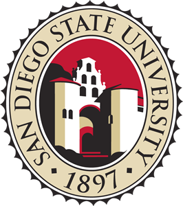 San Diego State University Seal Logo Vector
