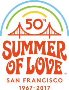 San Francisco's Summer of Love Logo Vector