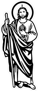 san judas tadeo Logo Vector