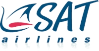 SAT airlines Logo Vector