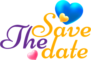 Save the date Logo Vector