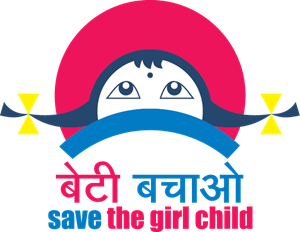 Save the Girl Child Logo Vector